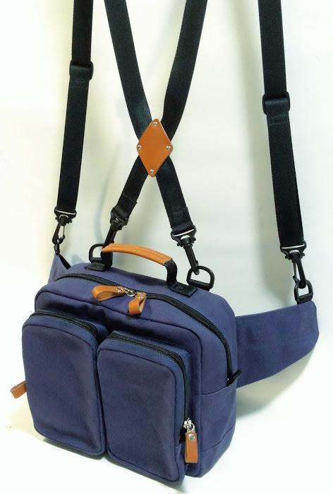ウエストバッグ(肩ベルト付き)